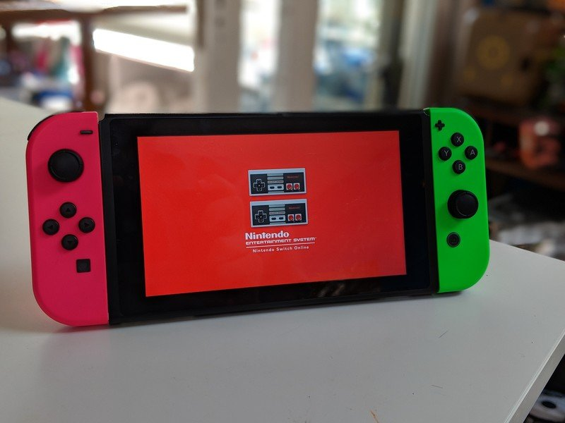 Nintendo updating the older switch console models with a new design