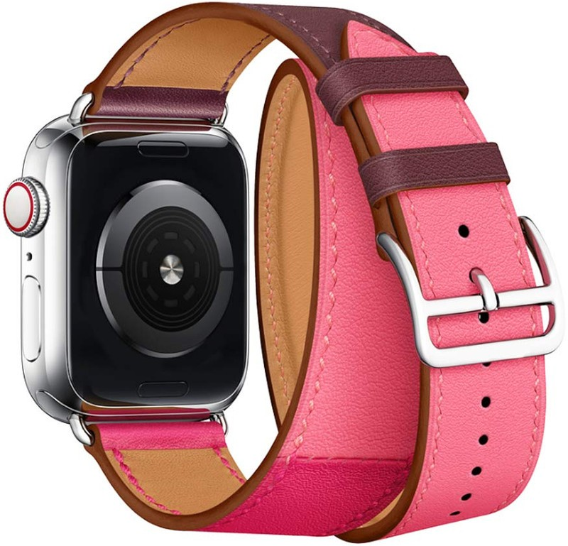 c00e763e2c7 Wrapped in elegance  Elobeth Double Tour Band for Apple Watch