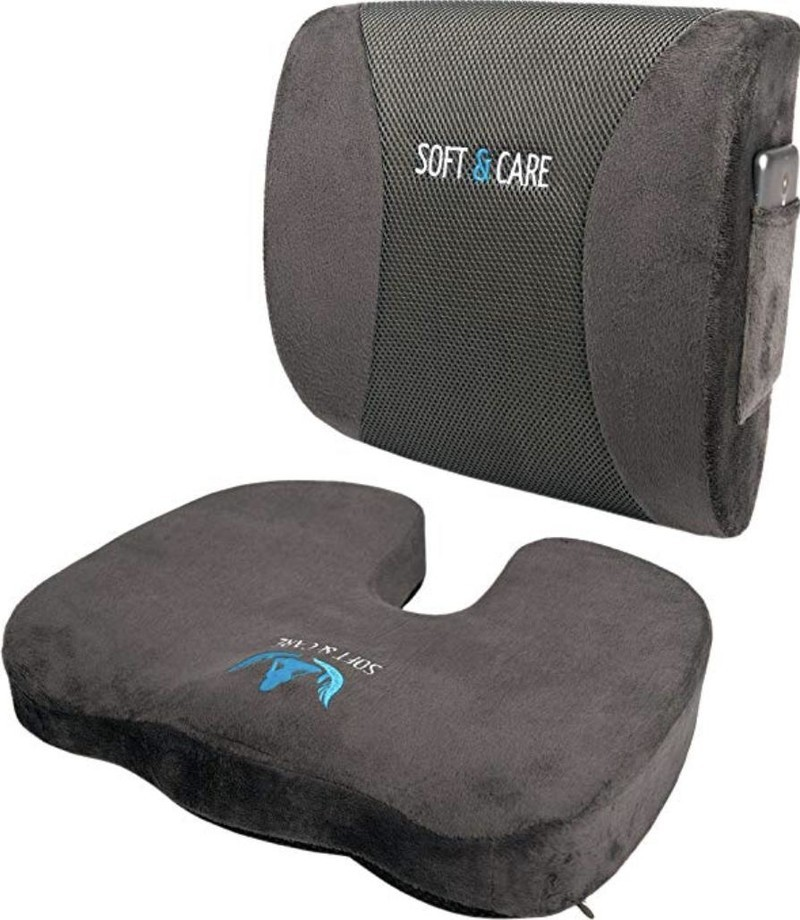 Seat And Back Support Softacare Cushion Lumbar Pillow