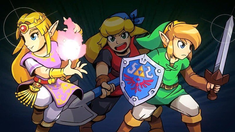 Cadence of hyrule characters