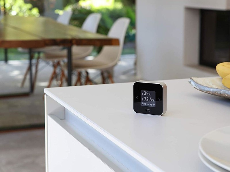 Monitor your home's air quality, humidity and more with the Eve Room at $10 off