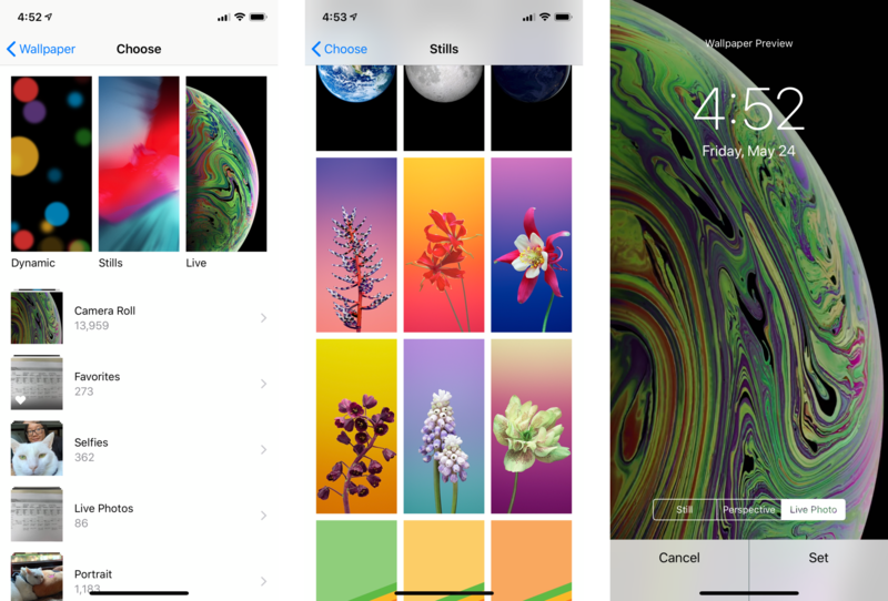 ios 12 wallpapers choose your option