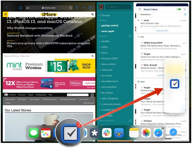 How to use Slide Over and Split View on the iPad | iMore