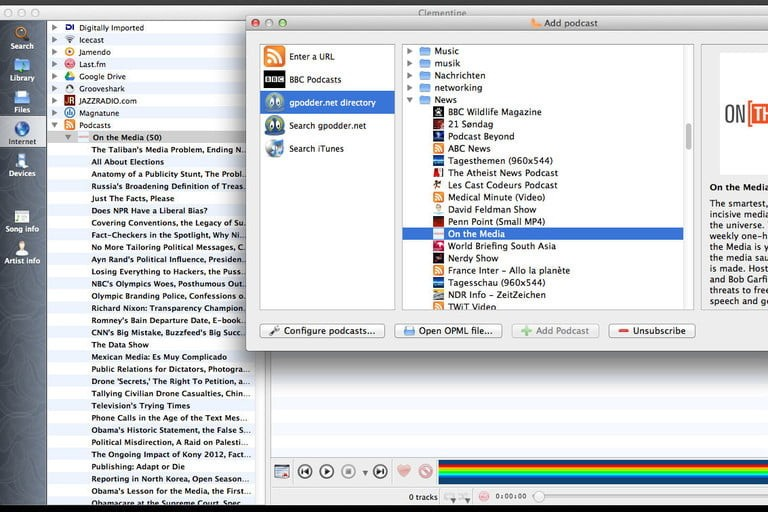 Clementine for Mac
