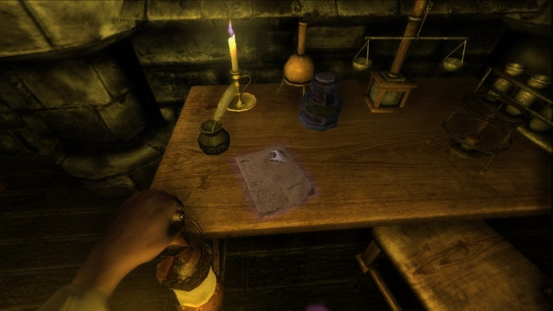 Picking up a page in Amnesia: The Dark Descent