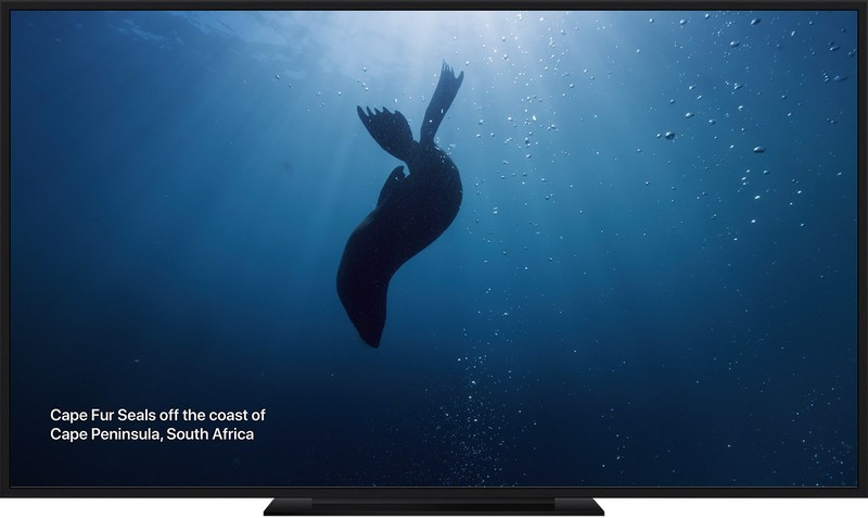 10 new underwater screen savers released for Apple TV