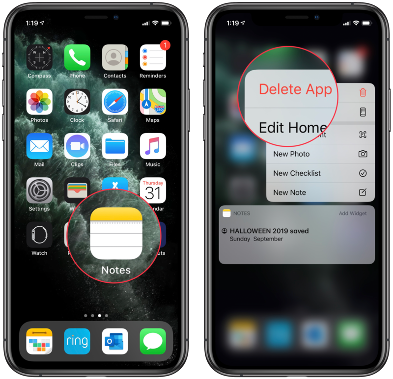 How To Move And Delete Apps On Iphone And Ipad Imore