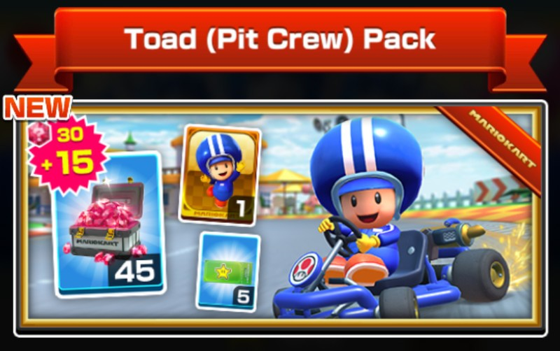 Toad (Pit Crew) Pack