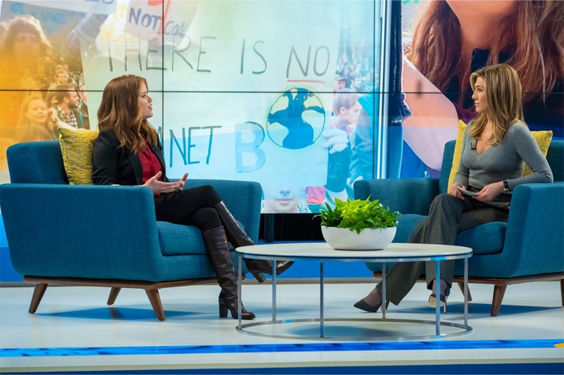 Jennifer Aniston and Reese Witherspoon on The Morning Show