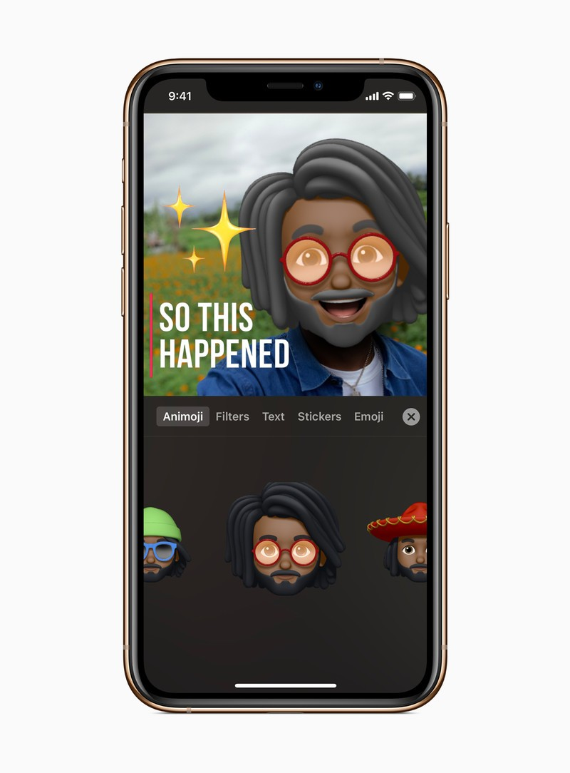 Memoji in Clips