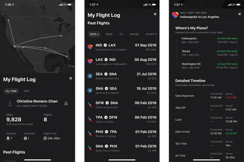 Flighty Live Flight Tracker