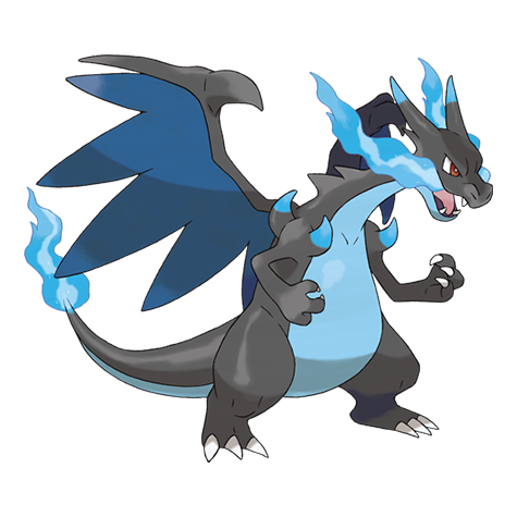 Pokemon 006 Mega Charizard X