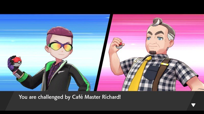 Pokemon Sword and Shield Battle Cafe Challenge