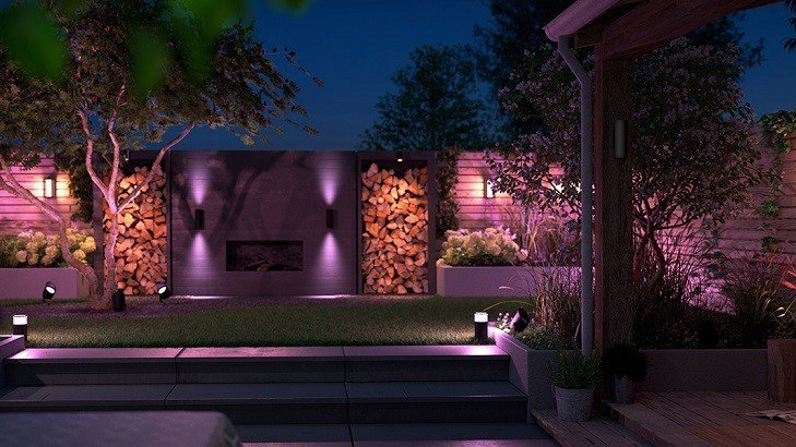 Philips Hue outdoor light fixtures