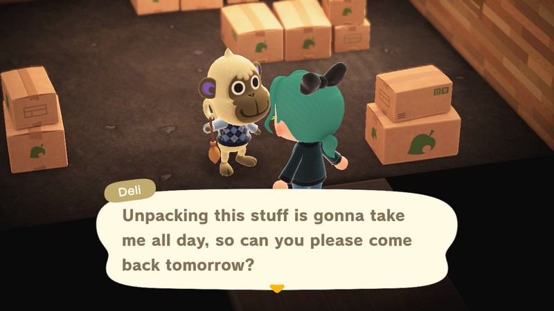 Animal Crossing New Horizons come back tomorrow