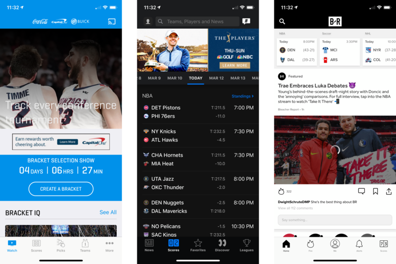 March Madness 2020 Apps