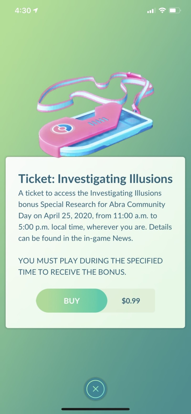 Pokemon Go Community Day Special Research