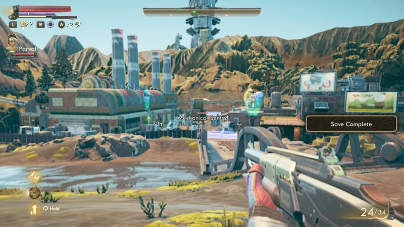 The Outer Worlds Nintendo Switch Blur