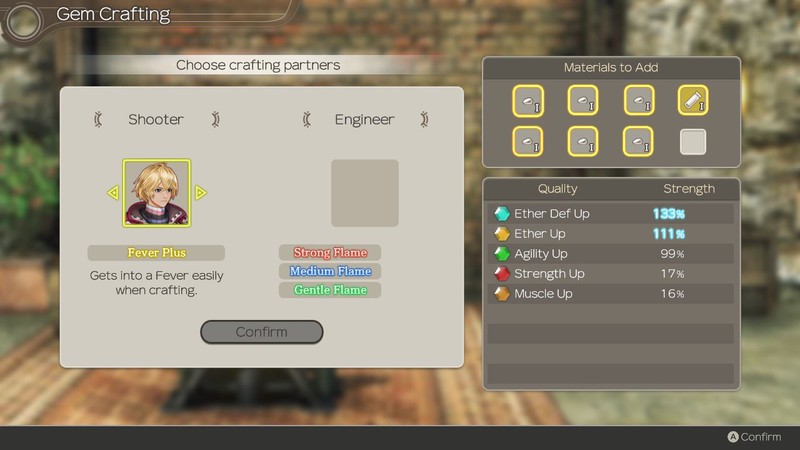 Xenoblade Chronicles Gem Crafting Furnace