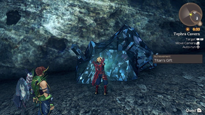 Xenoblade Chronicles Mining Ether Crystals