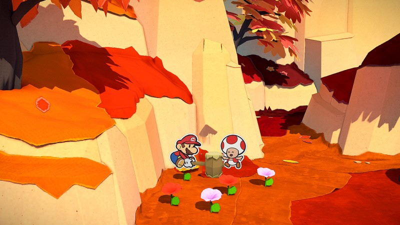 Paper Mario All Toads Chestnut Valley