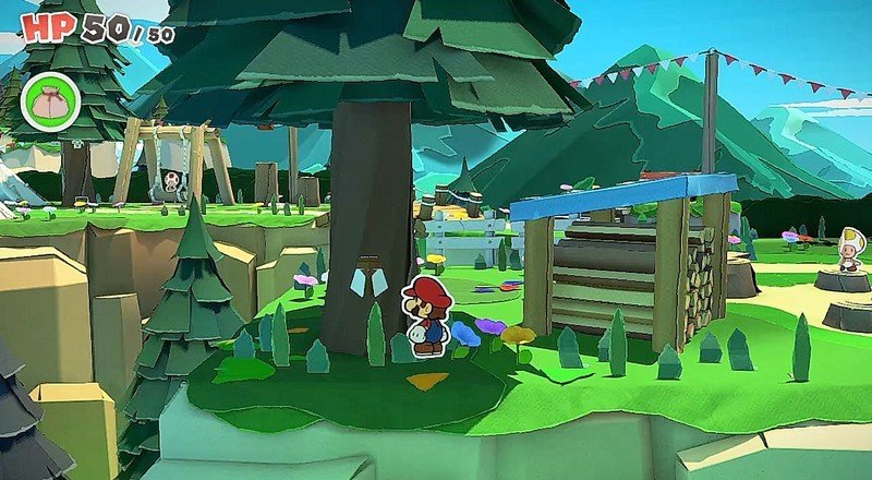Paper Mario All Toads Whispering Woods