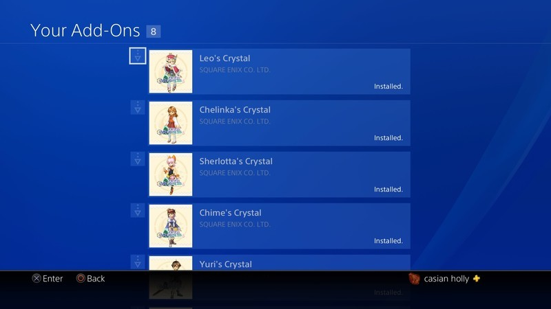 Final Fantasy Crystal Chronicles Remastered Edition Dlc Ps4