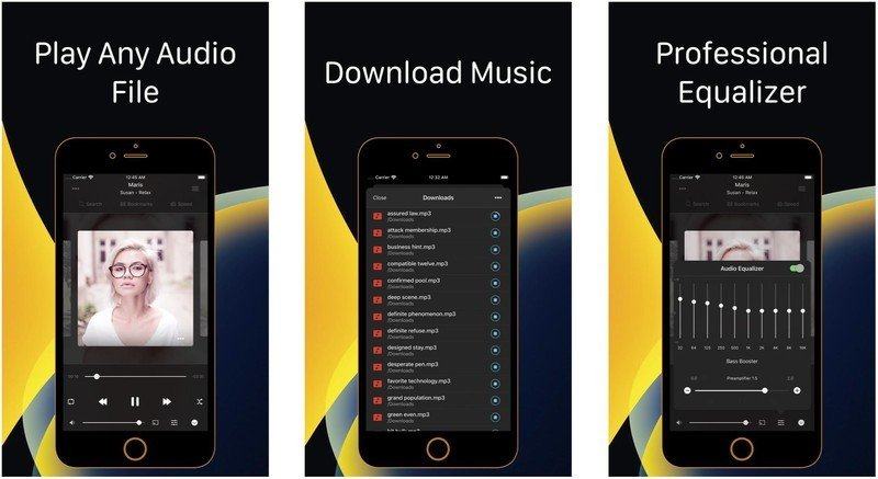 Flacbox Flac Player Equalizer Screens