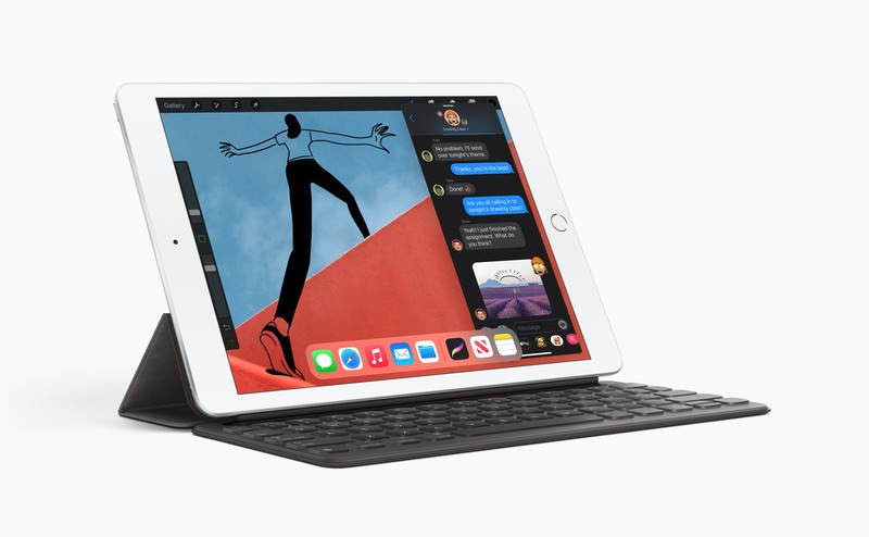 Apple Ipad 8th Gen W Keyboard