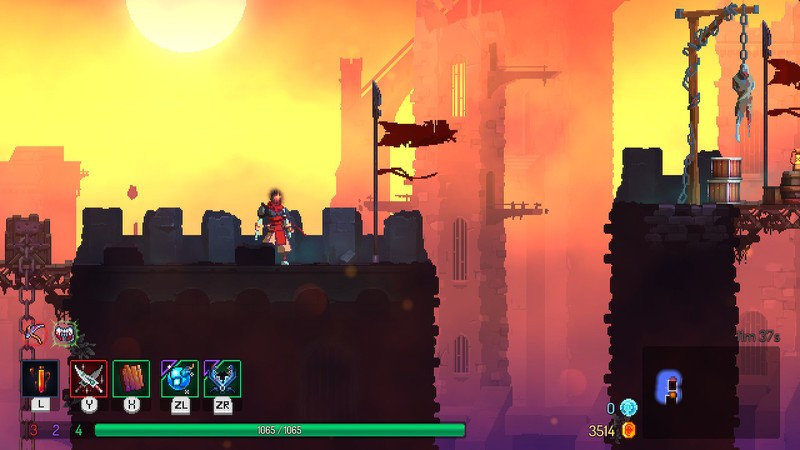 Dead Cells Jumping Over Gaps