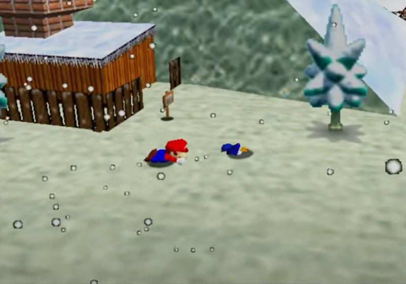 Super Mario 64 Penguin