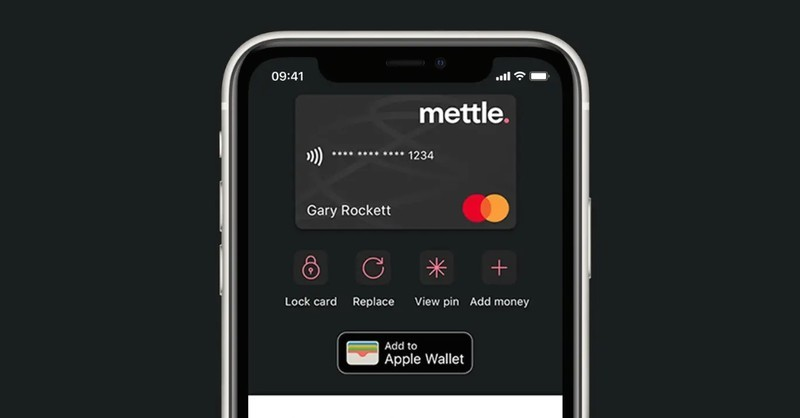 Natwest Mettle Card Apple Pay
