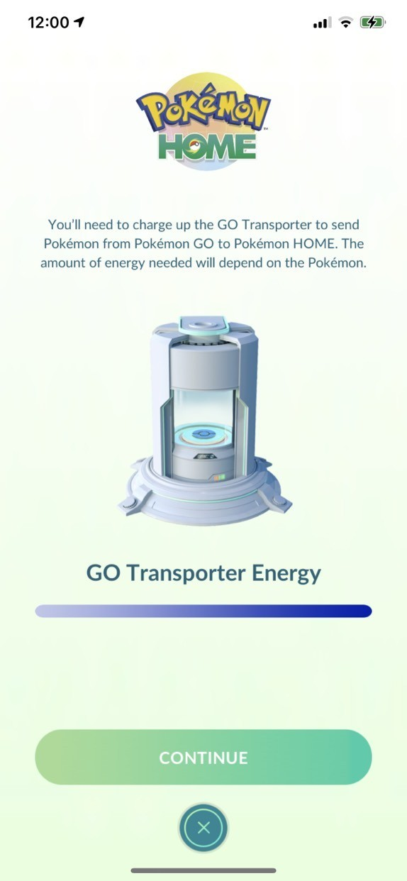 Pokemon Go Pokemon Home Transferring Pokemon Energy