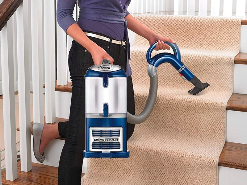 Shark Navigator Lift Away Deluxe Upright Vacuum Hero