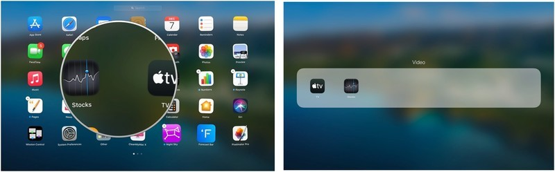 To organize apps into folders in Launchpad on Mac, open Launchpad, then click and hold the app you want to put in a folder. Drag the app on top of another app to create a folder. Or drag the app into an existing folder.