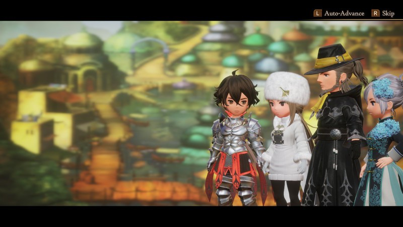 Bravely Default 2 Cast Playable Characters