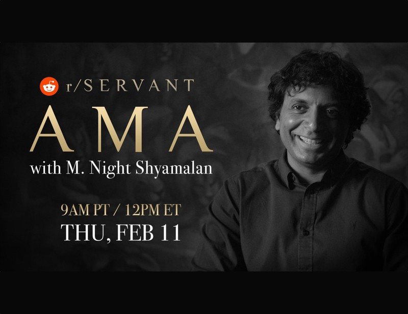 'Servant' creator M. Night Shyamalan to host Reddit AMA on Feb 11