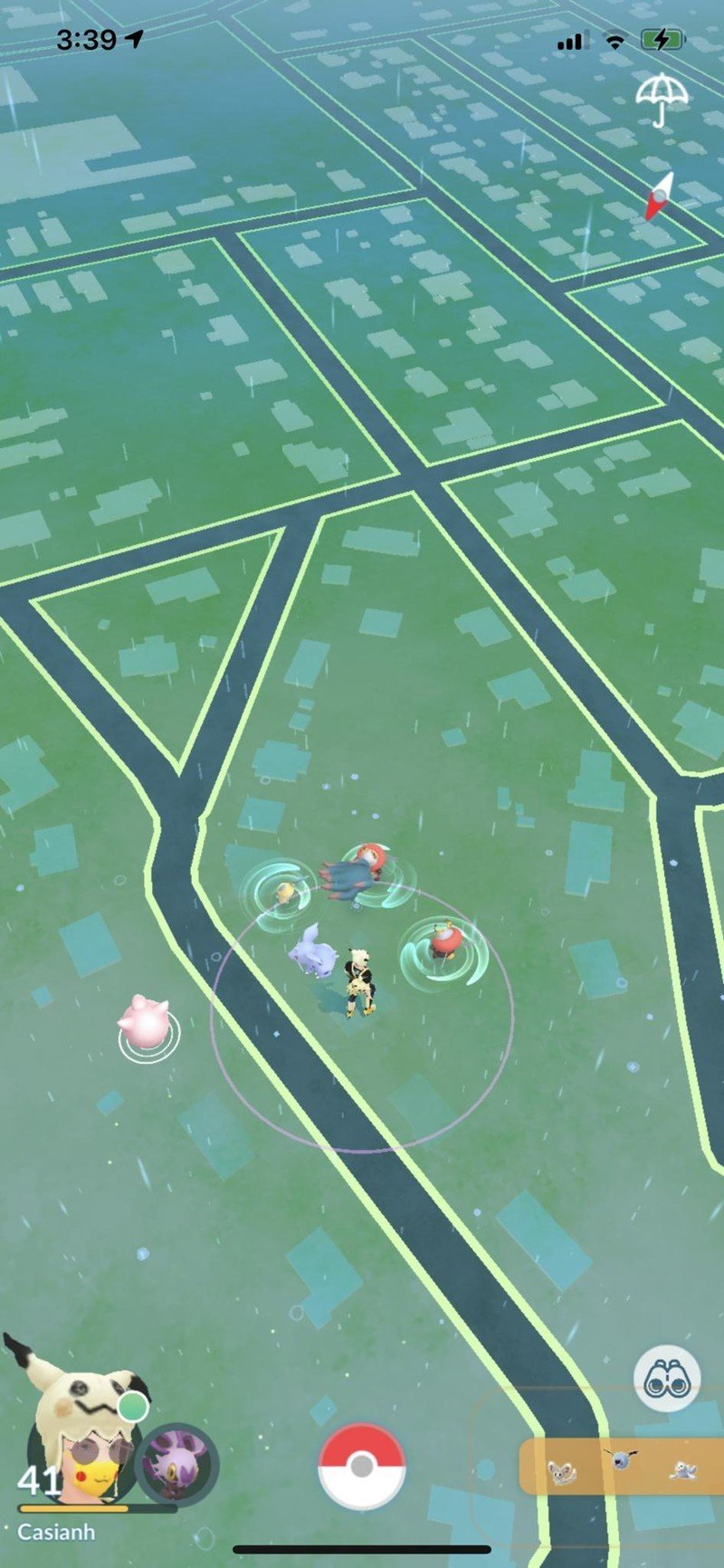 Pokemon Go Pokeraid Raid Invitation in Sightings