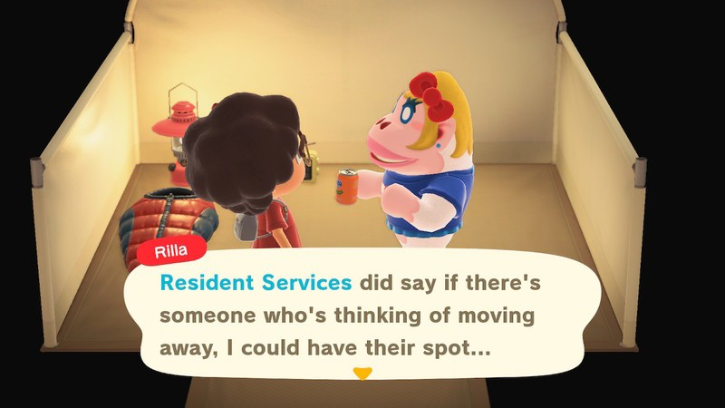 Animal Crossing New Horizons Amiibo Move Out