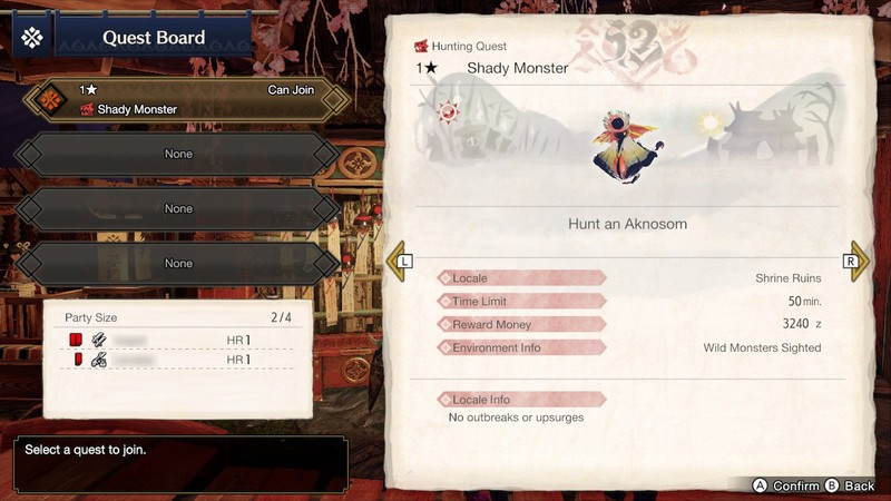 Mhr Multiplayer Online Join Quest