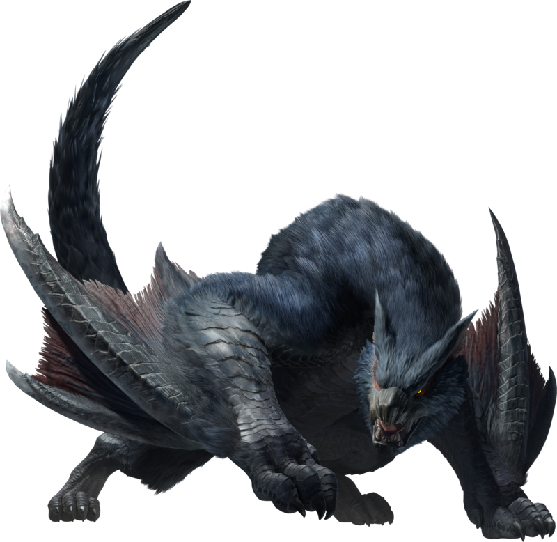 Monster Hunter Rise Nargacuga