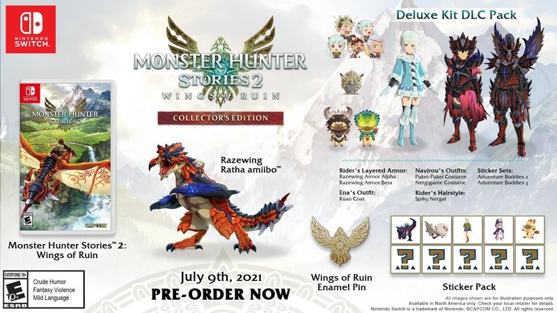 Monster Hunter Stories 2 Collectors Edition