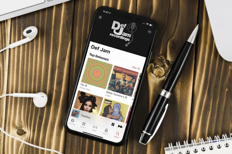 Apple Music Label Page