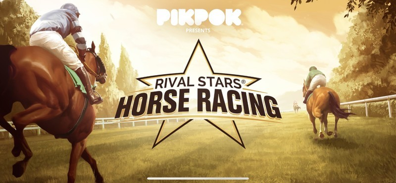 Rival Stars Horse Racing Title Screen