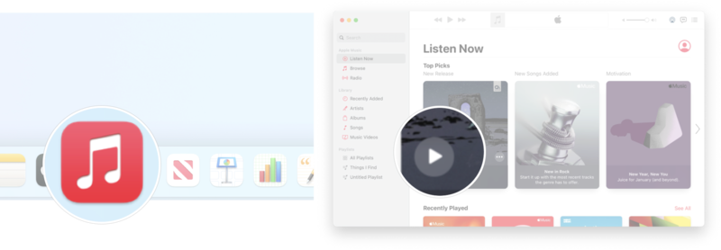 How To Play Music In Music App macOS Big Sur