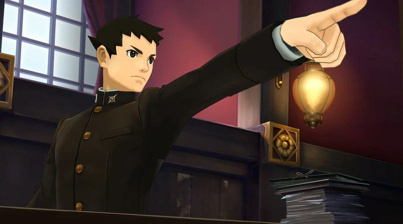 The Great Ace Attorney Chronicles Pointing