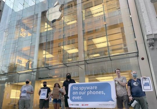 Iphone Protest