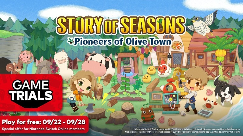 Story Of Seasons Pioneers Olive Town Nso Trial