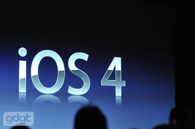 iPhone OS 4 is now iOS 4, coming June 21