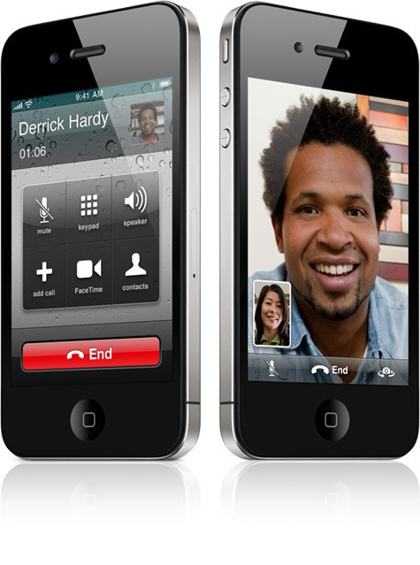 iPhone 4 FaceTime one tap call